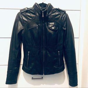 Danier 100% Italian Leather jacket. Like new.